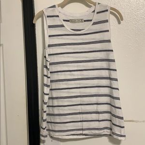 Abercrombie and Fitch striped muscle boyfriend